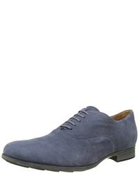 Chaussures richelieu bleues Geox