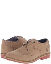 Chaussures richelieu brunes claires