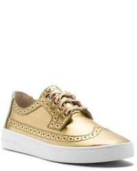 Chaussures richelieu dorées