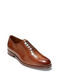 Chaussures richelieu en cuir brunes