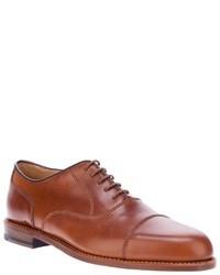 Chaussures richelieu en cuir marron clair Ludwig Reiter