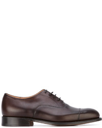 Chaussures richelieu en cuir marron Church's