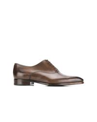 Chaussures richelieu en cuir marron Ermenegildo Zegna XXX