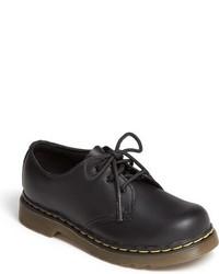 Chaussures richelieu en cuir noires