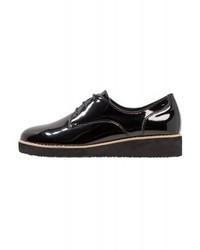 Chaussures richelieu en cuir noires Anna Field