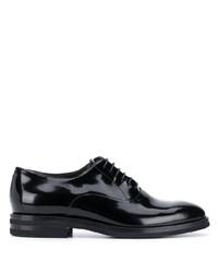 Chaussures richelieu en cuir noires Brunello Cucinelli