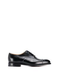 Chaussures richelieu en cuir noires Church's