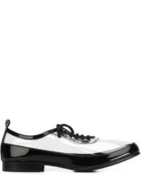 Chaussures richelieu en cuir noires Comme des Garcons