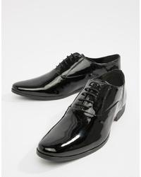 Chaussures richelieu en cuir noires Kg Kurt Geiger