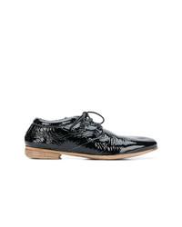 Chaussures richelieu en cuir noires Marsèll