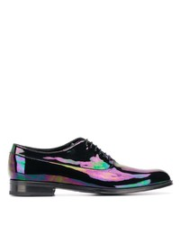 Chaussures richelieu en cuir noires Paul Smith