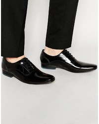 Chaussures richelieu en cuir noires Ted Baker