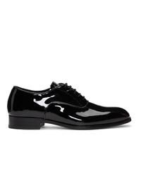 Chaussures richelieu en cuir noires Tiger of Sweden