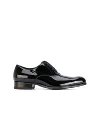 Chaussures richelieu en cuir noires Tom Ford