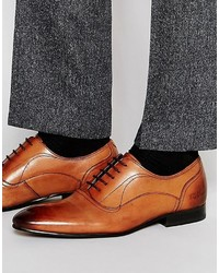Chaussures richelieu en cuir tabac Ted Baker