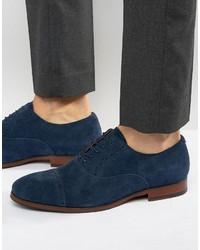 Chaussures richelieu en daim bleu marine Aldo