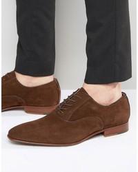 Chaussures richelieu en daim brunes Aldo