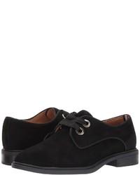 Chaussures richelieu en daim noires