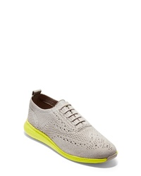 Chaussures richelieu en toile grises