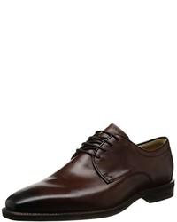 Chaussures richelieu marron foncé Ecco