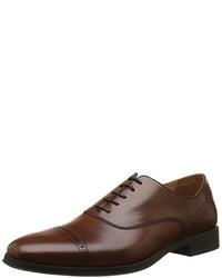 Chaussures richelieu marron foncé Geox