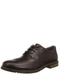 Chaussures richelieu marron foncé Rockport