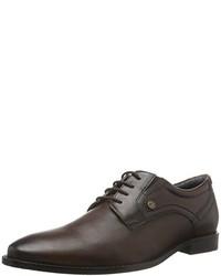 Chaussures richelieu marron foncé s.Oliver