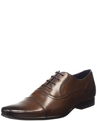 Chaussures richelieu marron foncé Ted Baker