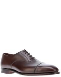 Chaussures richelieu marron