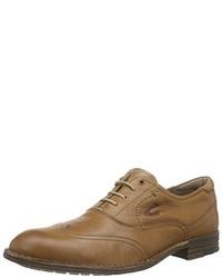 Chaussures richelieu marron camel active