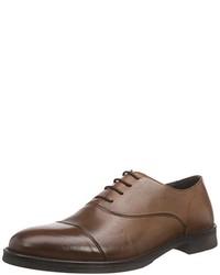 Chaussures richelieu marron Selected