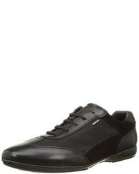 Chaussures richelieu noires Geox