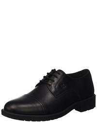 Chaussures richelieu noires Lumberjack