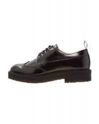 Chaussures richelieu noires Marc O'Polo