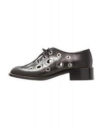 Chaussures richelieu noires Proenza Schouler