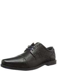 Chaussures richelieu noires s.Oliver