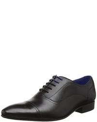 Chaussures richelieu noires Ted Baker