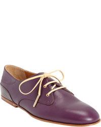 Chaussures richelieu pourpres foncees original 8534799