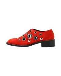 Chaussures richelieu rouges Proenza Schouler