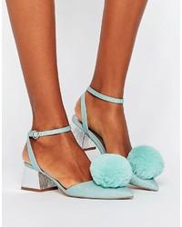 Chaussures vertes menthe Asos