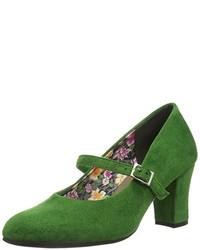 Chaussures vertes femme VpSxSkSL9