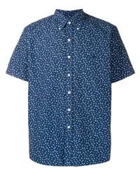 Chemise à manches courtes à fleurs bleu marine Polo Ralph Lauren