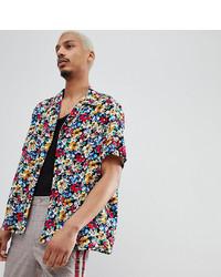 Chemise à manches courtes à fleurs multicolore Milk It