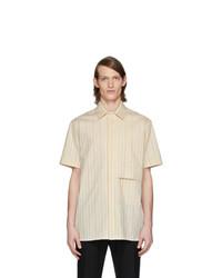 Chemise à manches courtes beige 1017 Alyx 9Sm