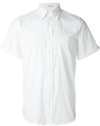 Chemise à manches courtes blanche Gant