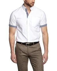 Chemise à manches courtes blanche Jack & Jones