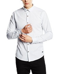 Chemise à manches courtes blanche ONLY & SONS