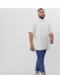 Chemise à manches courtes blanche Tommy Hilfiger