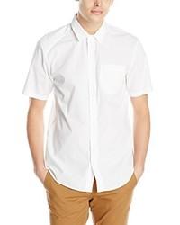 Chemise à manches courtes blanche Volcom