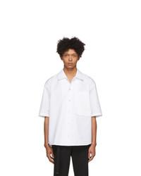 Chemise à manches courtes blanche Wooyoungmi
